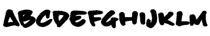 BillieBoldHand Font LOWERCASE
