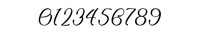 Billion Calligraphy - Personal Use Font OTHER CHARS
