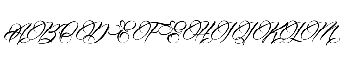 Billion Stars Personal Use  Font UPPERCASE
