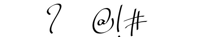 Billortte One_Regular Font OTHER CHARS