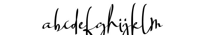 Billortte One_Regular Font LOWERCASE