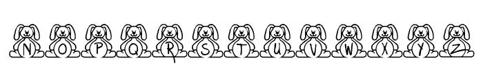 BillyBear EasterFont Font UPPERCASE