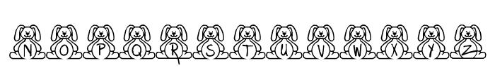 BillyBear EasterFont Font LOWERCASE