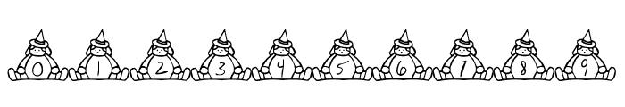 BillyBear Halloween Font OTHER CHARS