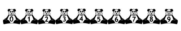 BillyBears Panda Font OTHER CHARS