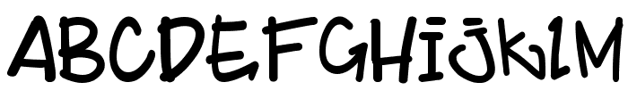 BillyBop_maj_tag Font LOWERCASE