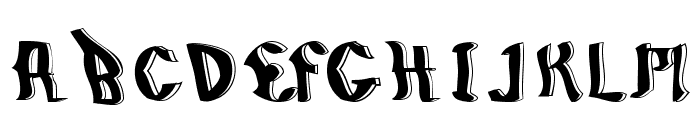 BillyBoy-Regular Font UPPERCASE