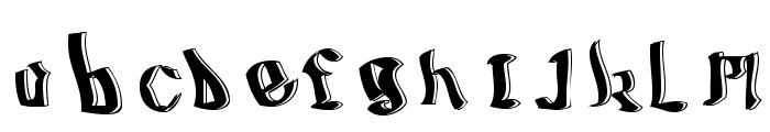 BillyBoy-Regular Font LOWERCASE