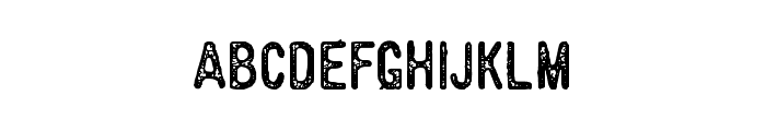 BillyforgesDemo Font LOWERCASE