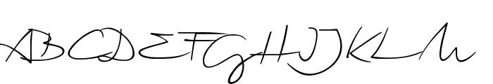 Biloxi Script Font UPPERCASE