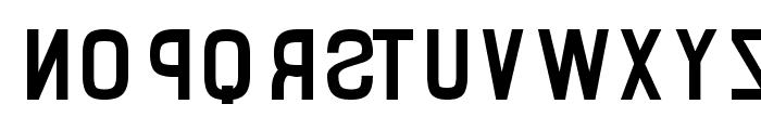 Binary Font LOWERCASE