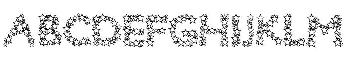 Bingo Star Font UPPERCASE