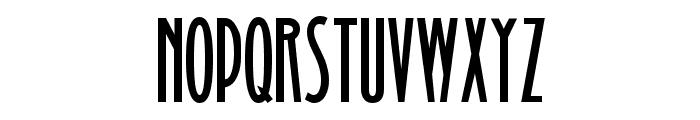 Binner Gothic Font UPPERCASE