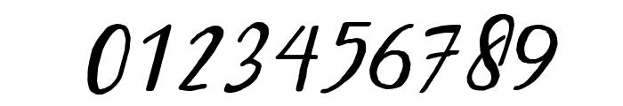 Bintar Italic Font OTHER CHARS