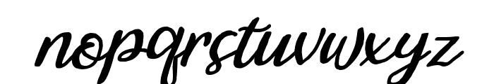 Bintar Italic Font LOWERCASE