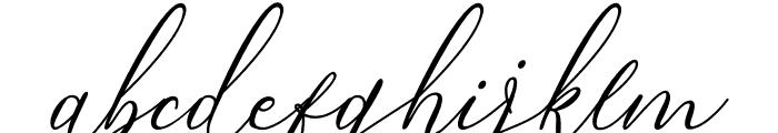 Bintari Italic Font LOWERCASE