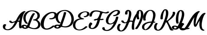 Bio Monster Font UPPERCASE