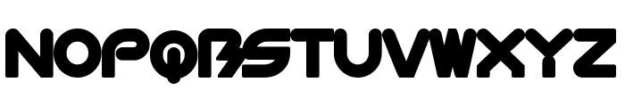 BioMetric-Chubby Font UPPERCASE