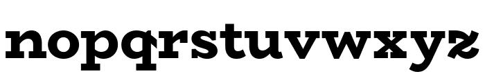 BioRhyme-ExtraBold Font LOWERCASE