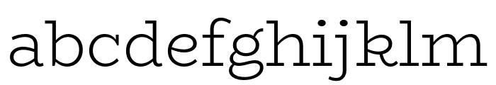 BioRhyme-Light Font LOWERCASE