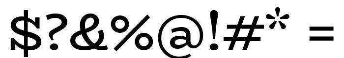 BioRhyme-Regular Font OTHER CHARS