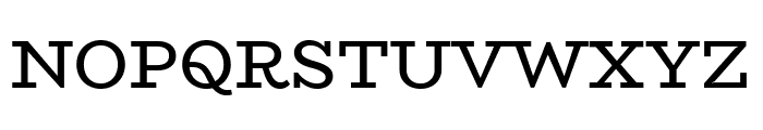 BioRhyme-Regular Font UPPERCASE
