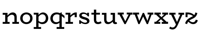 BioRhyme-Regular Font LOWERCASE