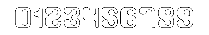Biological-Hollow Font OTHER CHARS