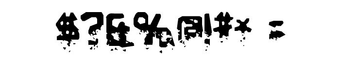 BiometricJoe-Regular Font OTHER CHARS