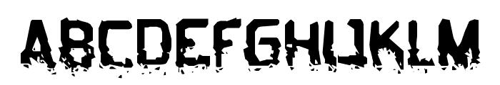 BiometricJoe-Regular Font UPPERCASE