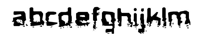 BiometricJoe-Regular Font LOWERCASE