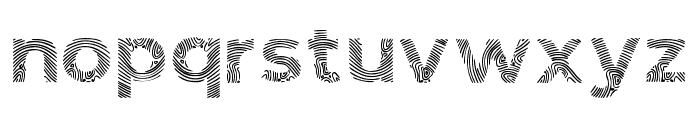 Biometro_gothic Regular Font LOWERCASE