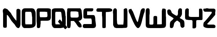Bionic Comic Bold Font LOWERCASE