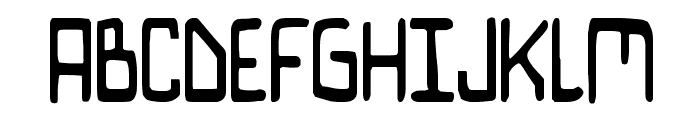 Bionic Comic Condensed Font UPPERCASE