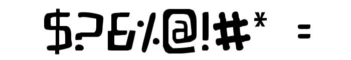 Bionic Comic Font OTHER CHARS