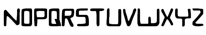 Bionic Comic Font UPPERCASE