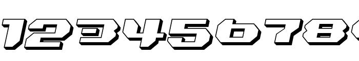 Bionic Kid Slanted 3d Font OTHER CHARS
