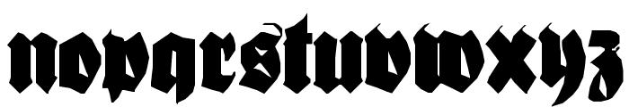 Bionique Font UPPERCASE