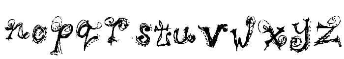 Bipolar Braden Font LOWERCASE