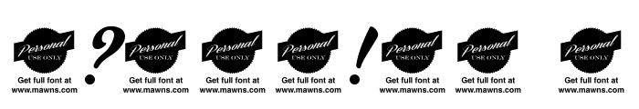 Bira - PERSONAL USE ONLY Font OTHER CHARS