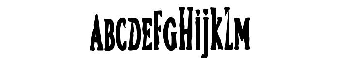 Bird Font UPPERCASE