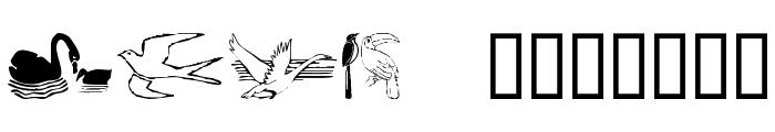 BirdArt Font LOWERCASE
