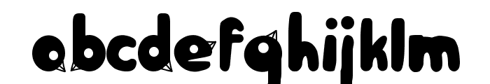 BirdFace Font LOWERCASE