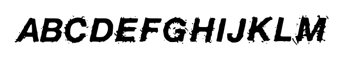 BirdFly Font UPPERCASE