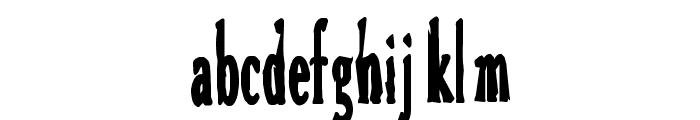Bird Font LOWERCASE