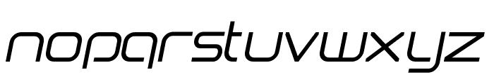 Birdman Oblique Font LOWERCASE