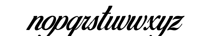 Birds of Paradise - Personal use Only Font LOWERCASE
