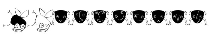 BirdsAndOtherBeings Font OTHER CHARS
