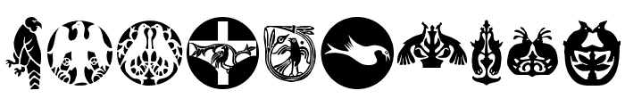 BirdsBirds Font OTHER CHARS