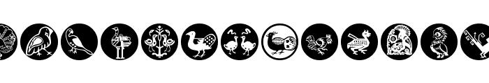BirdsBirds Font UPPERCASE